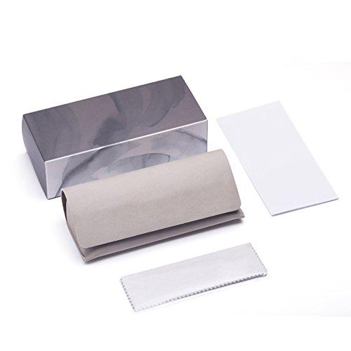 100 Protección Plateada caja Plata Redondas De Sol Uv Polarizadas Tesite Gafas YHTXqp