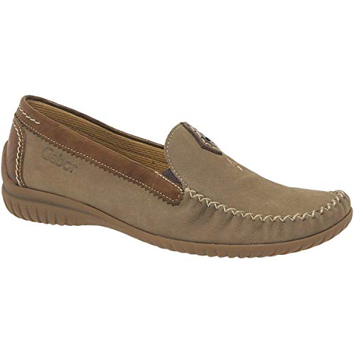 Beige Basic Donna copper Shoes Mocassini Comfort Eu Gabor 38 43 corda pWfSqHWn