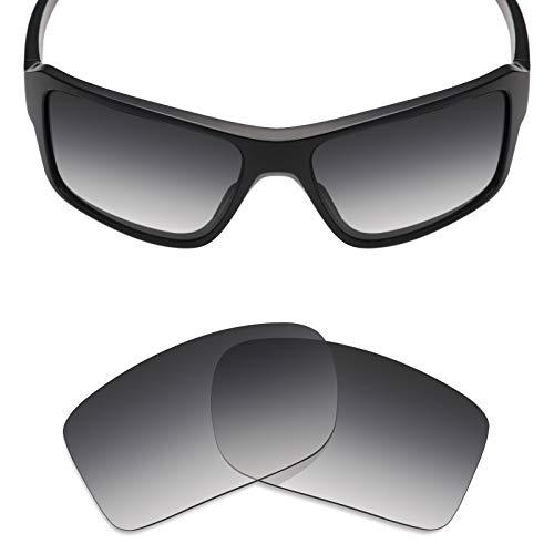Mryok Polarized Replacement Lenses for Oakley Double Edge - Grey Gradient ()