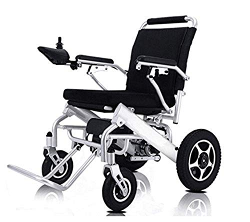 Electric Wheelchair Folding Lightweight Supports 360 lbs Aircraft Grad