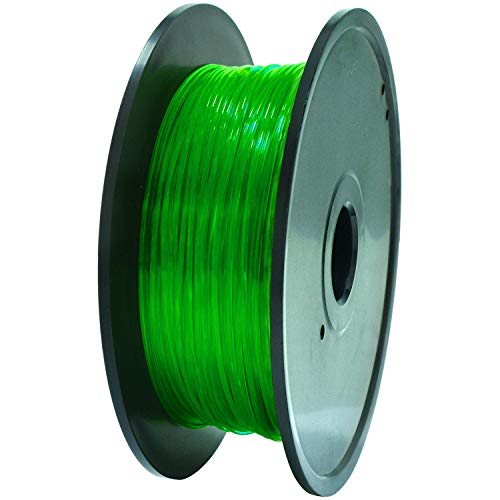 GEEETECH TPU Filament 1.75mm, Flexible TPU Consumables for 3D Printer, Dimensional Accuracy +/- 0.05 mm,0.4KG (0.88lbs…