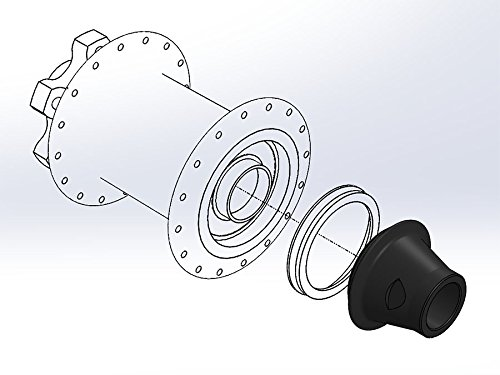 Wolf Tooth Boostinator Hub Adapter: 15x100 or 12x142mm to Boost 15x110mm or 12x148mm Thru Axle (DF20)