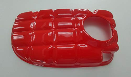 AMT Custom Designs Coolant Tank Cover, Compatible with C5 Corvette 97-04 (Torch Red) ()