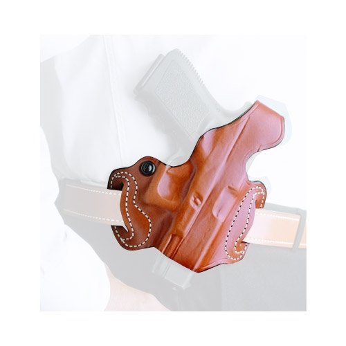(DeSantis Thumb Break Mini Slide Holster fits Cocked & Locked Only, Right Hand, Tan)