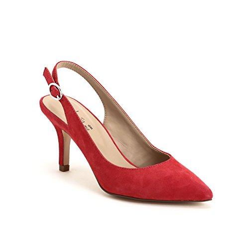 ALESYA by Scarpe&Scarpe - Sandalias altas con punta alargada Rojo