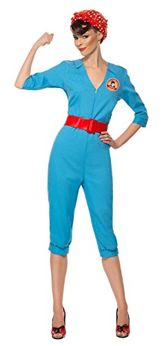 Rosie the Riveter Costume & Outfit Ideas 1940s Factory Girl Costume  AT vintagedancer.com
