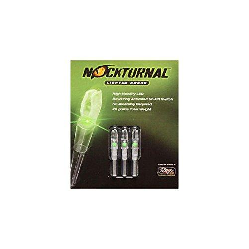 Nockturnal Lighted Arrow Nock G Model 3/Pkg Green by Nockturnal (Image #1)