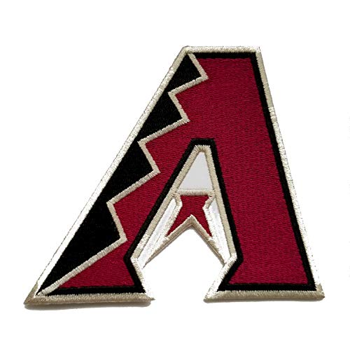 Diamondbacks Baseball Fully Embroidered Iron On Patch InspireMe Family Owned (3