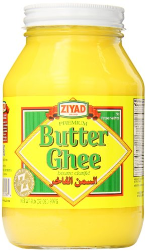 Ziyad Pure Desi Ghee Clarified Butter, 32 Ounce