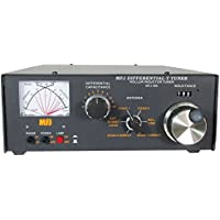 MFJ Enterprises MFJ-986 1.8 ~ 30 MHz Rugged Roller Inductor Differential-T Antenna Tuner 3KW PEP Amplifier Input Power (1500 Watts PEP SSB output power). Also Covers MARS & WARC Bands.