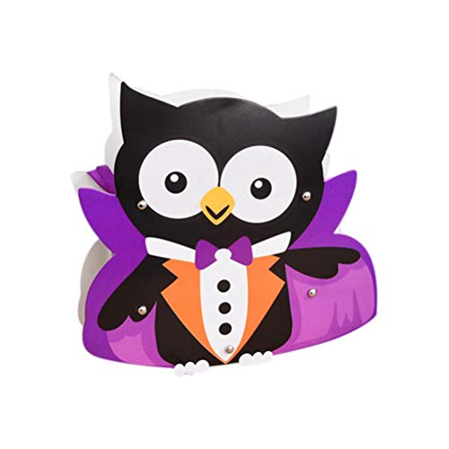 - certainPL Halloween Gift Candies Bags Amusing Fluffy Bags Tote Bags for Kids Festival (C)