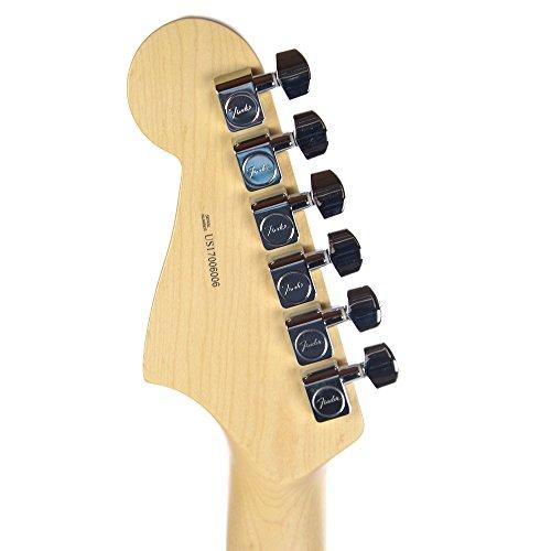 Fender American Pro Jazzmaster Ash RW Rubio blanco edición limitada w/de tortuga Golpeador: Amazon.es: Instrumentos musicales