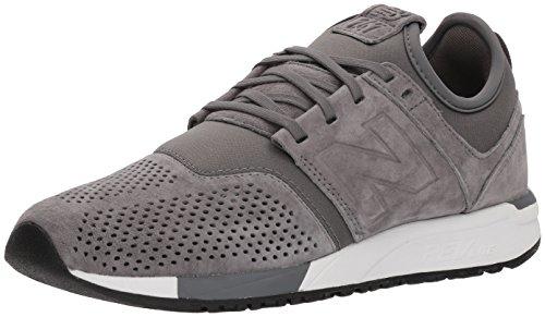 New Balance Men's 247v1 Sneaker, Grey/White, 10.5 D US