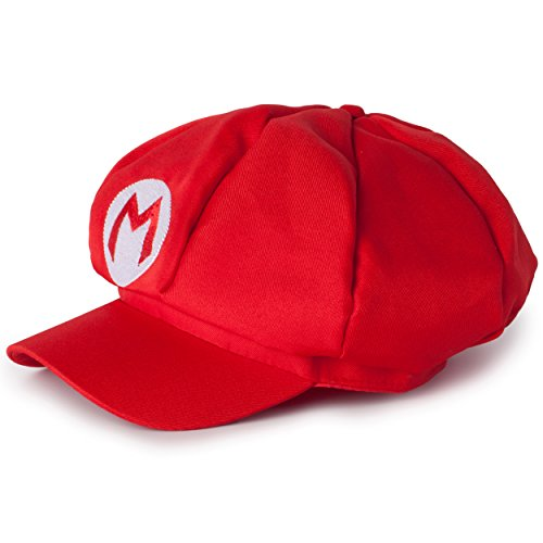 Super Mario Kart Hats: Classic Mario Cap for Halloween Costumes: Unisex Cosplay - Diy Comic Con Costumes