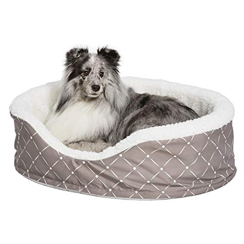 MidWest Homes for Pets CU29MRD Couture Orthopedic Cradle Pet Bed for Dogs & Cats, Medium