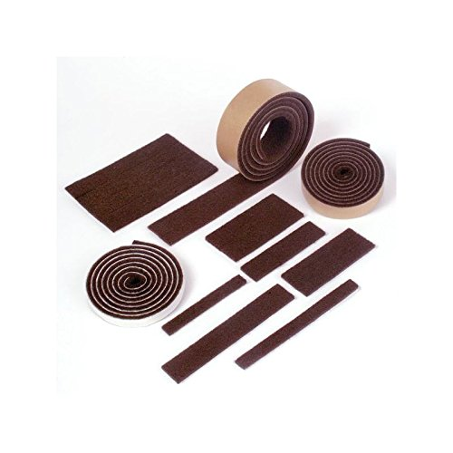 Expanded Technologies Protective Felt Strip, Brown, 1.50'' x 60'' - Case of 20