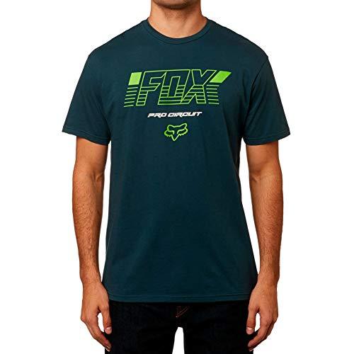 - Fox Racing Pro Circuit Basic T-Shirt-Navy-M
