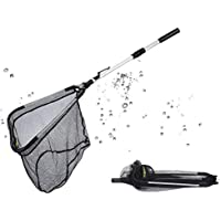 Fishing Landing Net, Collapsible Fishing Net with...