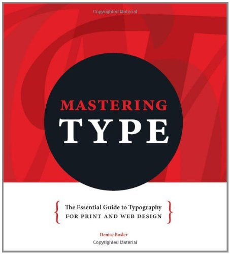 - Mastering Type: The Essential Guide To Typography For F&W And Web Design (5/30/12)