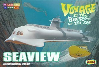 Voyage To the Bottom of the Sea SEAVIEW Submarine 39 Inch Long Model Kit 707 by Moebius Models 1/128 from Moebius Models