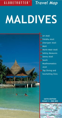 Maldives (Globetrotter Travel Map) (English, German and French Edition)...