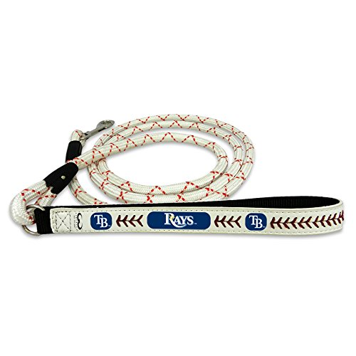 (GameWear Tampa Bay Rays Frozen Rope Baseball Leather Leash,)