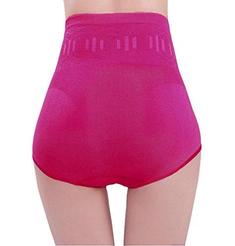 Damen Unterhose Panties von ZEZKT,Shapewear Damen Miederhose Bauch Weg Hot Pink 2 TrH4zoyxl