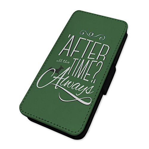 After all this Time–always–Custodia ad aletta in pelle cover Apple iPhone 5C
