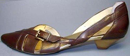 Manas Lea Foscati Pumps Leder braun gold Braun Gold
