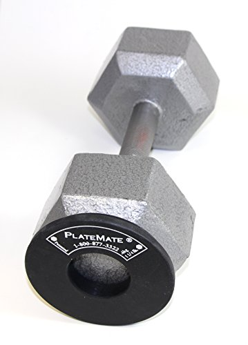 PlateMate Micro Loading 1.25 Pound Donut Weight Plate 1 Pair