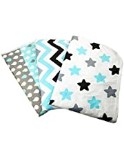 """Changing Pad Liners [3 Pack Large] -Portable Changing Mat - 100% Waterproof - Absorbent - Baby Shower Gift - Unisex - Changing Table Cover - 50cm x 70cm (19.5"""" x 27.5"""") - By Kinpa Baby"""
