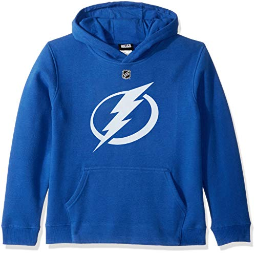 - Outerstuff NHL NHL Tampa Bay Lightning Youth Boys Primary Logo Fleece Hoodie, Royal, Youth X-Large(18)