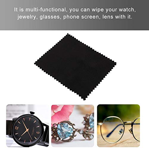Pukido 15pcs Watch Cleaning Polishing Cloth Glasses Lens Metal Jewelry Clean Tool For Jewelers Watch Phone Screen Glasses Lens Wiping b