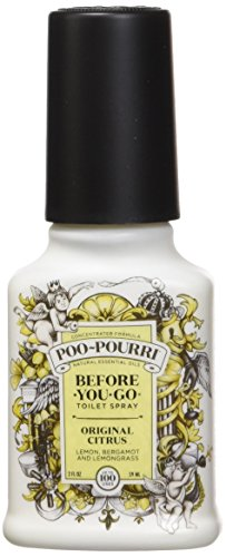 Poo-Pourri Before-You-Go Toilet Spray 2-Ounce Bottle, Original Citrus (Toilet Deodorizer)