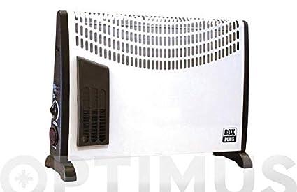 Convector Turbo con temporizador 24H 750/1250/2000W