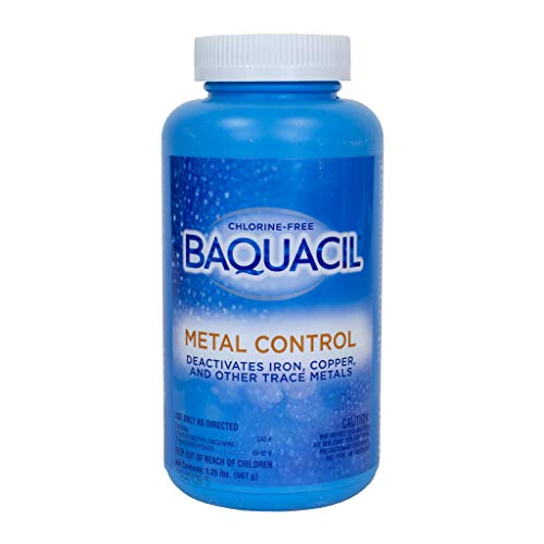 Baquacil 84327 Metal Control Swimming Pool Chemical, Support Products, Clear ()