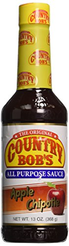 Country Bob's Apple Chipotle All Purpose Steak Sauce 13oz - (Apple Chipotle)