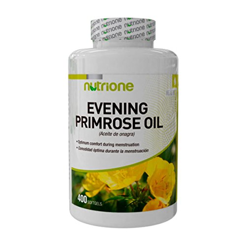 Nutrione Aceite de Onagra (Evening Primose Oil) - 400 perlas