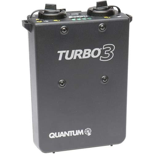 Quantum T3US Turbo 3 325v NiMH Rechargeable Battery Power Pack ( For use with Canon, Nikon and other Cameras ) by Quantum