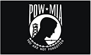 product image for Valley Forge Flag 2ft. x 3ft. POW-MIA Flag Single Reverse w/Heading & Grommets