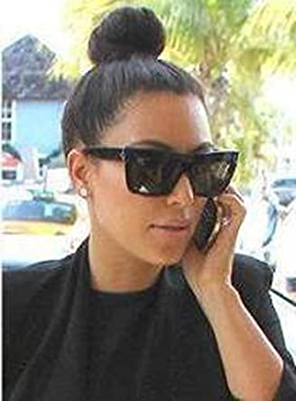 52f5948ea3c Celine Geo Square cl41756 zz top Black Kim Kardashian Sunglasses at Amazon  Women s Clothing store