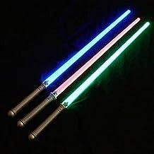 """Light Up Laser Lightsaber Sabre Sword 29"""" (3 PACK)"""