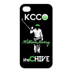 KCC William Murray the CHIVE Unique Apple Iphone 4 4S Durable Hard Plastic Case Cover CustomDIY