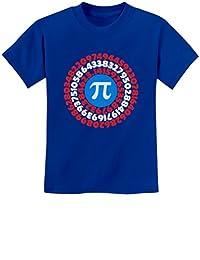 Pi Day Superhero - Captain Pi Gift for Math Geeks Pi Symbol Youth Kids T-Shirt