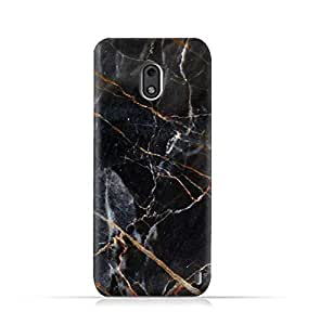 Nokia 2 TPU Protective Silicone Case with Grey Marble Texture