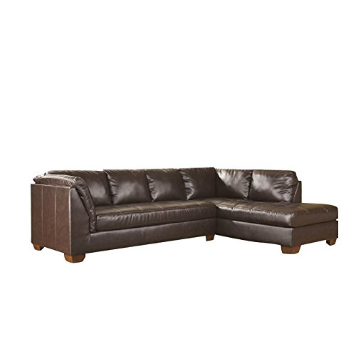 Left Corner Couch (Fairplay DuraBlend 44800-66-17 Sectional Sofa with Left Arm Facing Sofa and Right Arm Facing Corner Chaise in Mahogany)