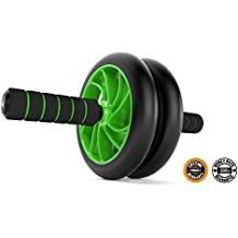 Ab-Roller Wheel :: Abs Carver for Abdominal & Stomach Exercise Training :: Because YOU Need the Best Fitness Equipment Core Shredder :: Your NEW Ab Trainer Includes 2 FREE Instructional eBooks