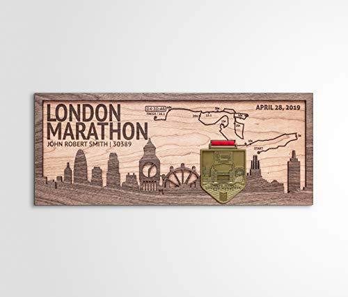 (London Marathon Medal Holder & Medal Display by TinkerMake)