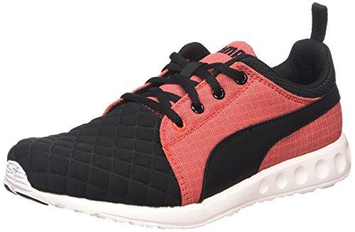 Puma Carson Runner Quilt Wn's - zapatillas de running de material sintético mujer negro - Schwarz (black-cayenne 01)
