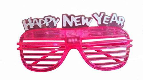 2015 Happy New Year Party Flashing Glasses Colorful Lights - 2015 Years Eve Glasses New